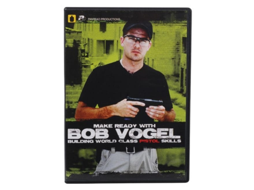 "Panteao ""Make Ready with Bob Vogel: Building World Class Pistol Skills"" DVD"