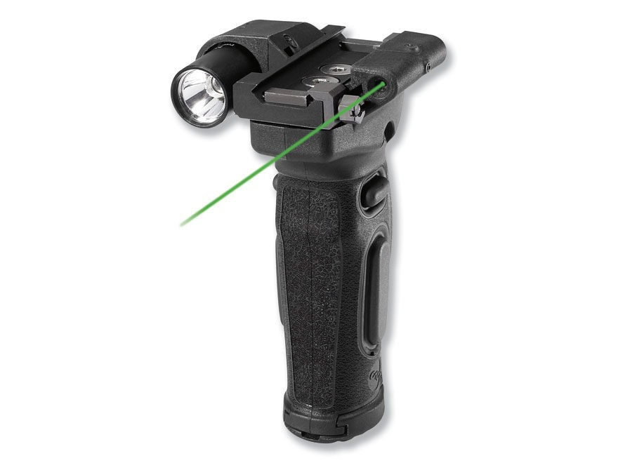 Crimson Trace Lasergrips Modular AR-15 Vertical Forend Grip with Weapon Light LED and L...