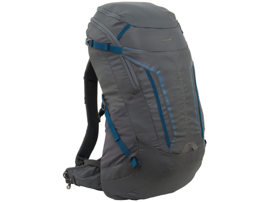 ALPS Mountaineering Baja 40 Backpack Gray and Blue