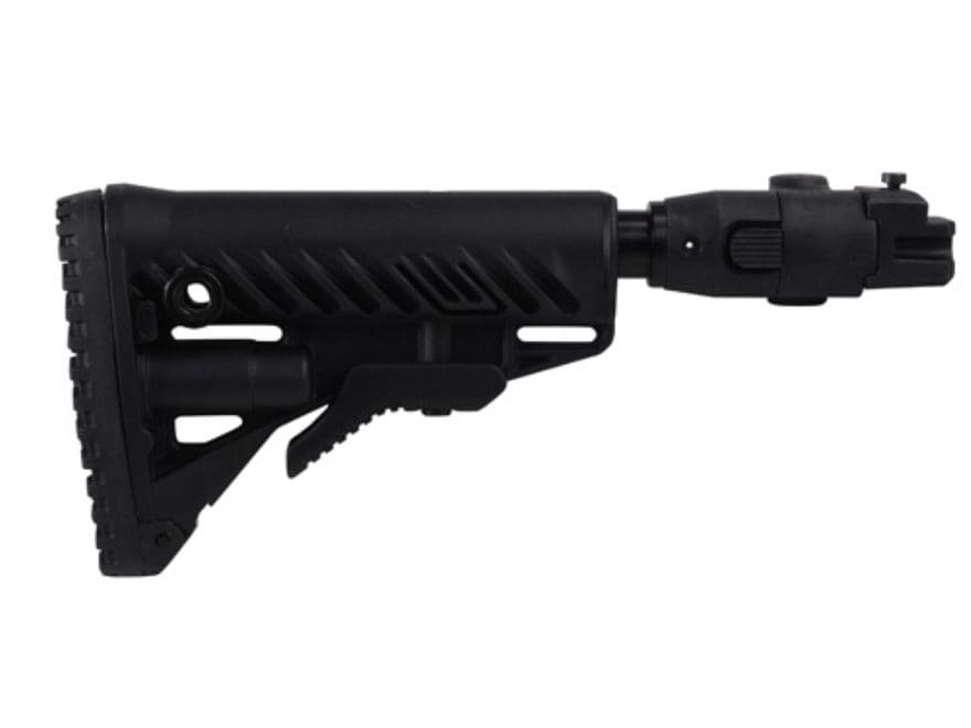 FAB Defense GLR16 Recoil Reducing Folding Collapsible Buttstock Assembly Polymer Joint ...