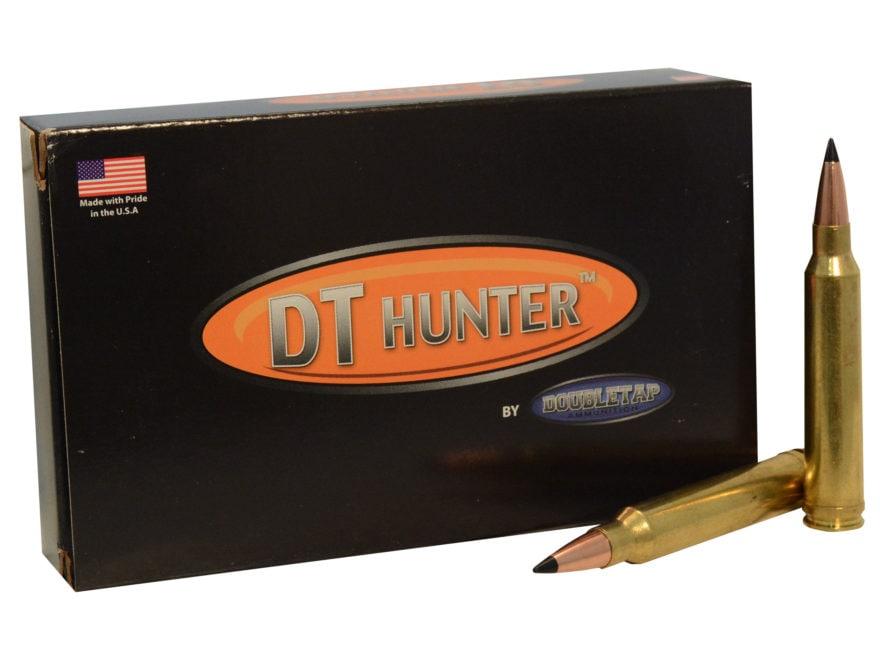 DoubleTap Ammunition 300 Winchester Magnum 165 Grain Swift Scirocco II Box of 20