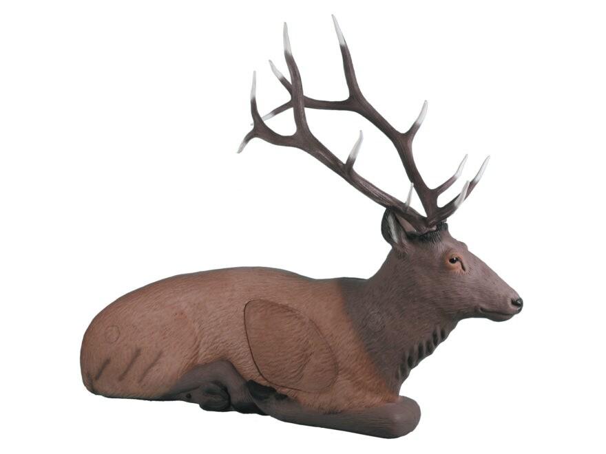 Rinehart Bedded Elk 3D Foam Archery Target