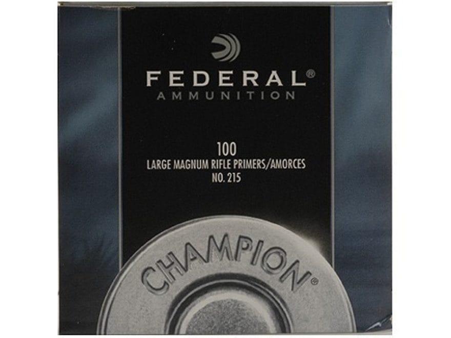 Federal Large Rifle Magnum Primers #215
