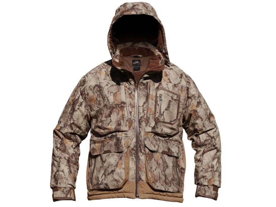 Natural Gear Men's Cut Down 3-in-1 Duck Coat Waterproof Insulated Polyester