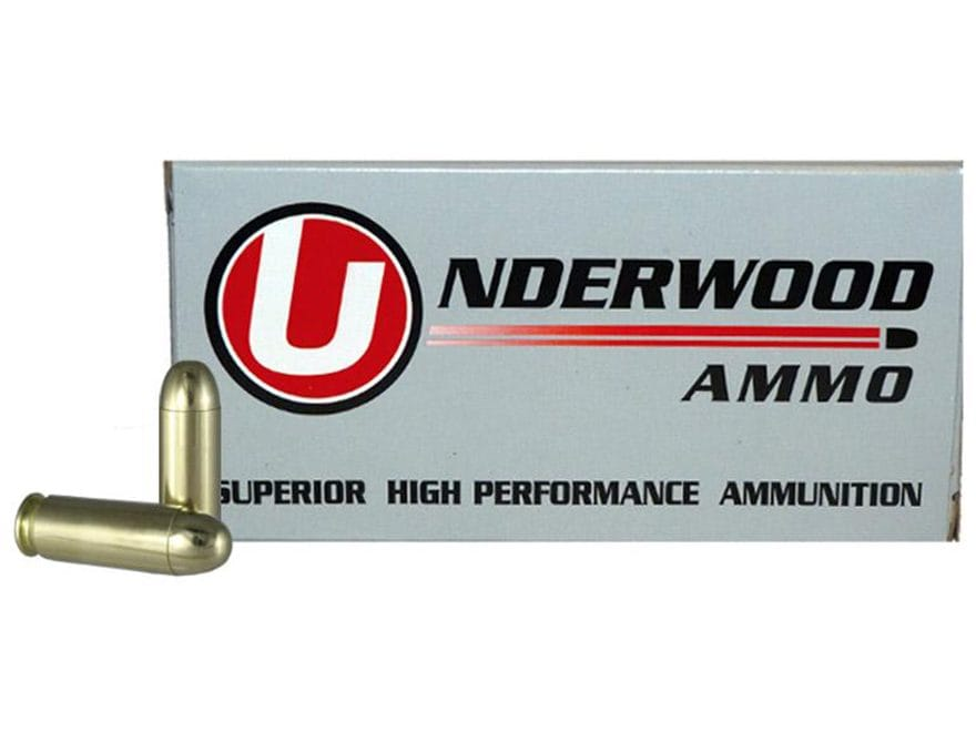 Underwood Ammunition 45 Winchester Magnum 230 Grain Full Metal Jacket Box of 50