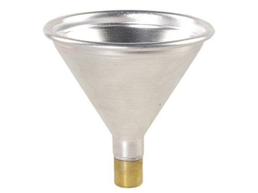 Satern Powder Funnel 44 Caliber Aluminum and Brass
