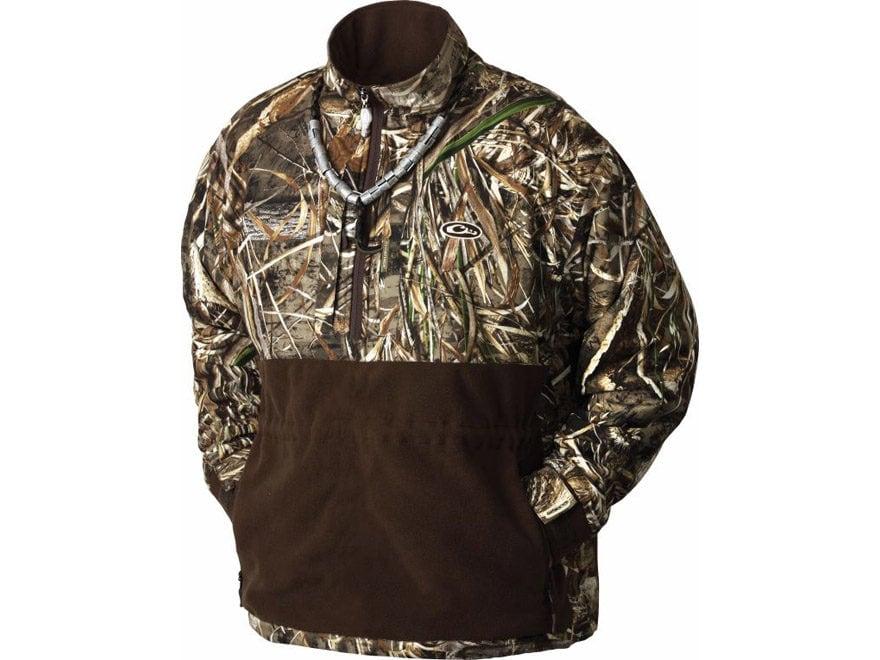 Drake LST Men's Heavyweight Eqwader 1/4 Zip Jacket