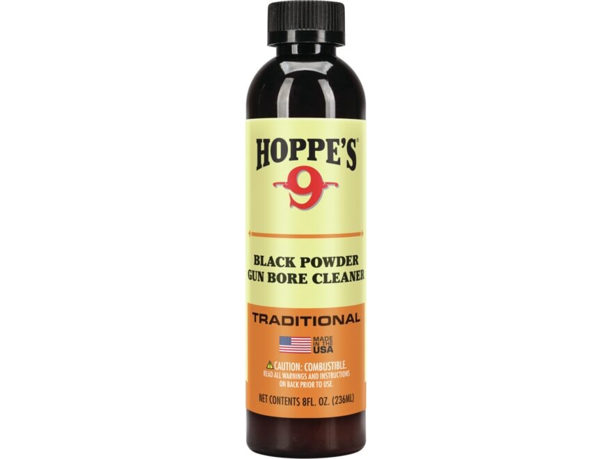 Hoppe's #9 Black Powder Bore Cleaning and Patch Lubricant 8 oz Liquid