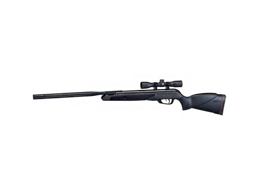 Gamo Big Cat 1300 Break Barrel Air Rifle 177 Caliber Pellet Black Synthetic Stock with ...