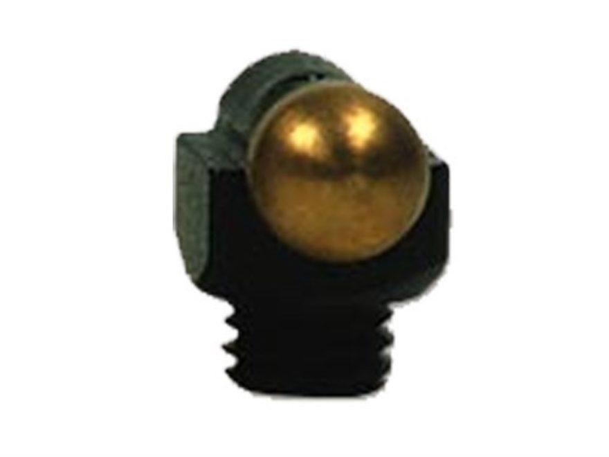 """Marble's Expert Shotgun Front Bead Sight .094"""" Diameter 6-48 Thread 3/32"""" Shank Gold"""