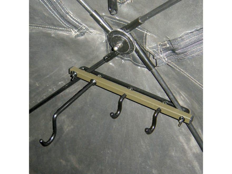 HME Ground Blind Gun Holder Mount Steel Brown