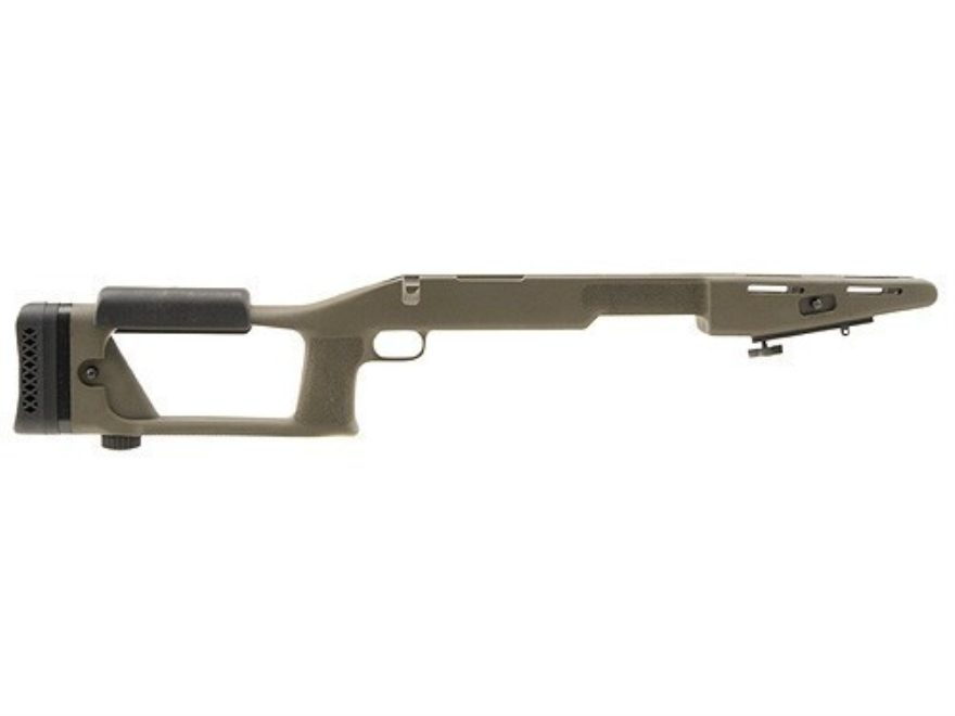 "Choate Ultimate Sniper Rifle Stock Remington 700 ADL 1.25"" Barrel Channel Synthetic Oli..."