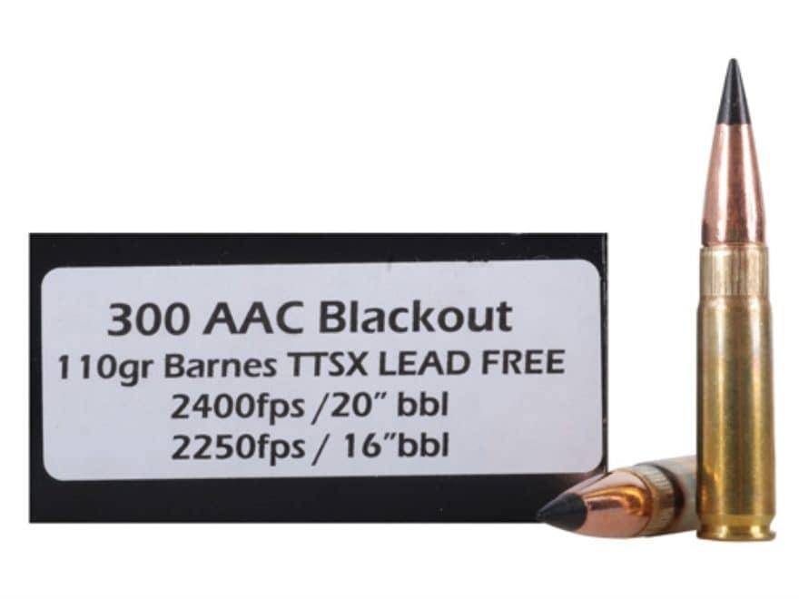 Doubletap Ammo 300 Aac Blackout 110 Grain Barnes Mpn 300blk110x