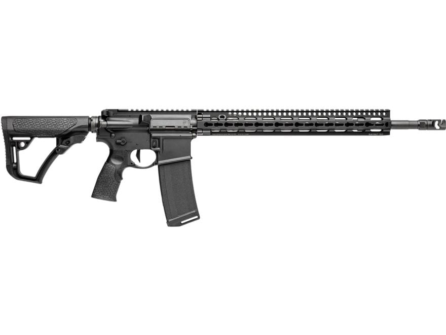 "Daniel Defense DDM4v11 Pro Carbine 5.56x45mm NATO 18"" Barrel 32-Round KeyMod Polymer Black"
