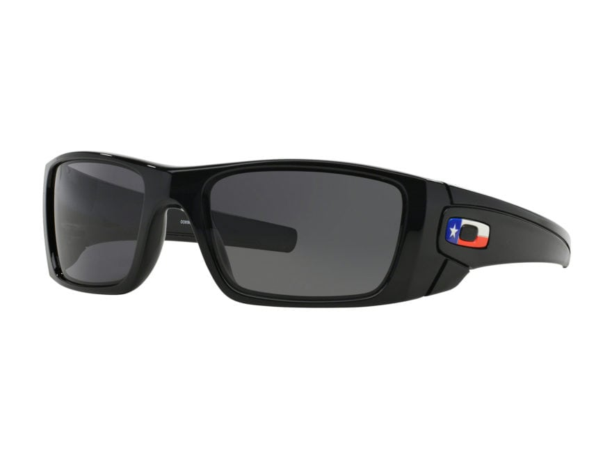 Oakley Fuel Cell Texas Flag Edition Sunglasses Black Frame/Black Lens