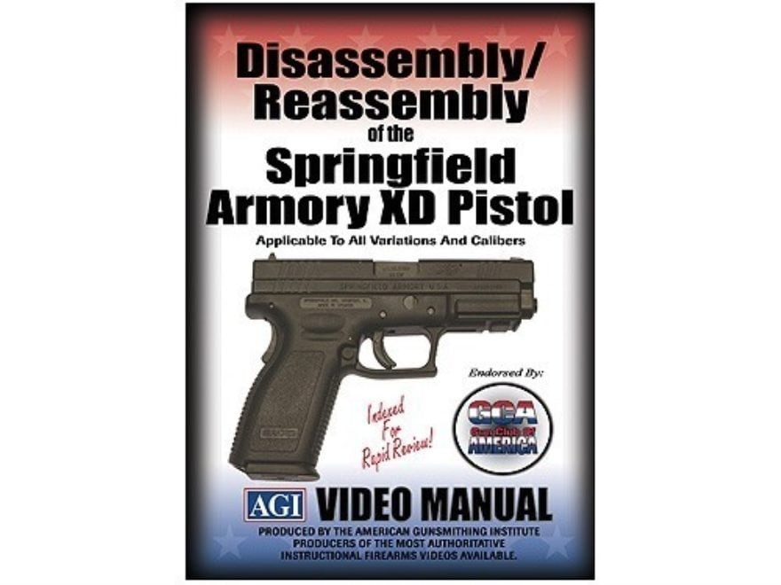 "American Gunsmithing Institute (AGI) Disassembly and Reassembly Course Video ""Springfie..."