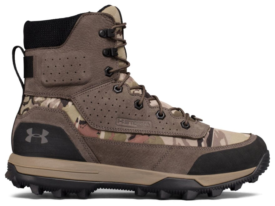 "Under Armour UA Speed Freek Bozeman 2.0 8"" Waterproof Hunting Boots Leather/Synthetic M..."