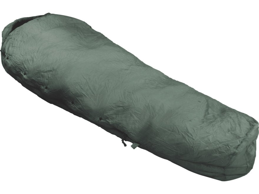 Military Surplus Improved MSS Patrol 30 Degree Mummy Sleeping Bag Nylon Foliage Green