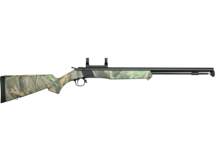 "CVA Wolf Muzzleloading Rifle with Dead-On Scope Mount 50 Caliber 24"" Nitride Stainless ..."