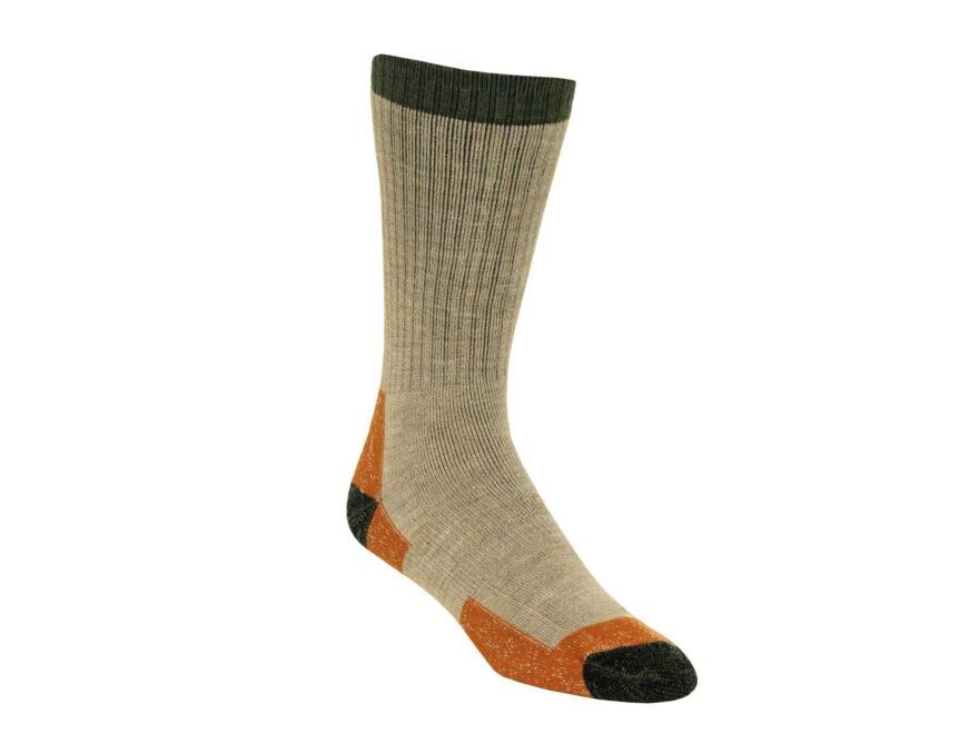 Kenetrek Men's Montana Midweight Crew Socks Merino Wool Blend Tan 1 Pair