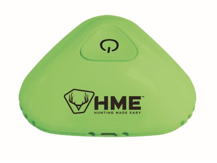 HME Scent Slammer Portable Ozone Air Cleaner Scent Elimination Device Green