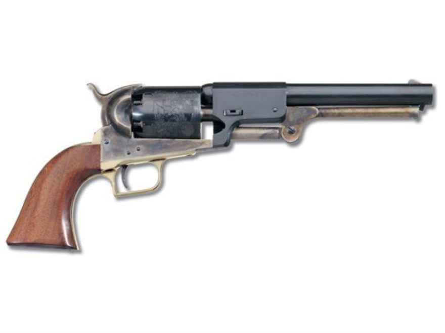 "Uberti 1848 1st Model Dragoon Black Powder Revolver 44 Caliber 7.5"" Barrel Steel Frame ..."