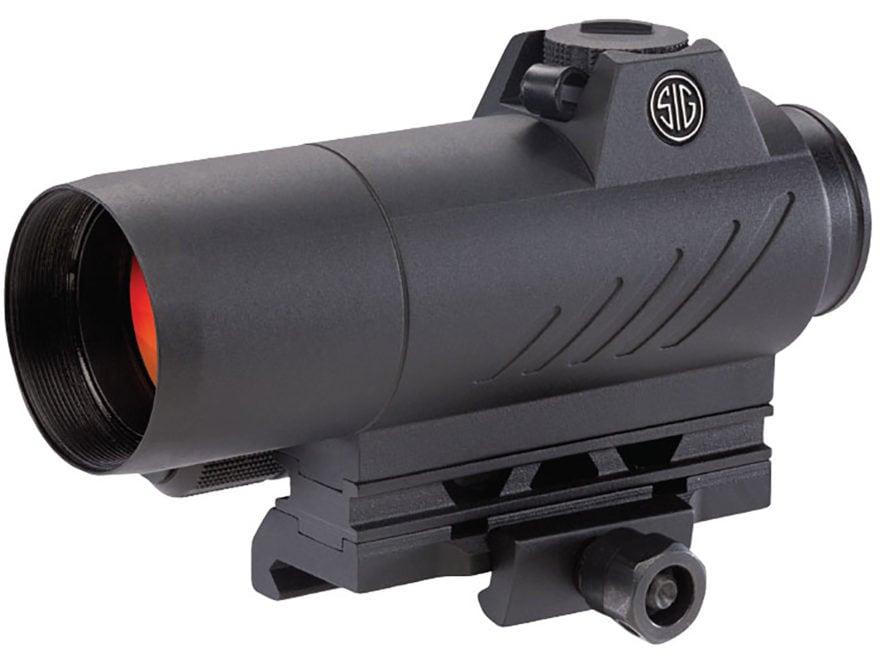 Sig Sauer ROMEO7 Red Dot Sight 1x 30mm 1/2 MOA Adjustments 2 MOA Dot Reticle Picatinny-...