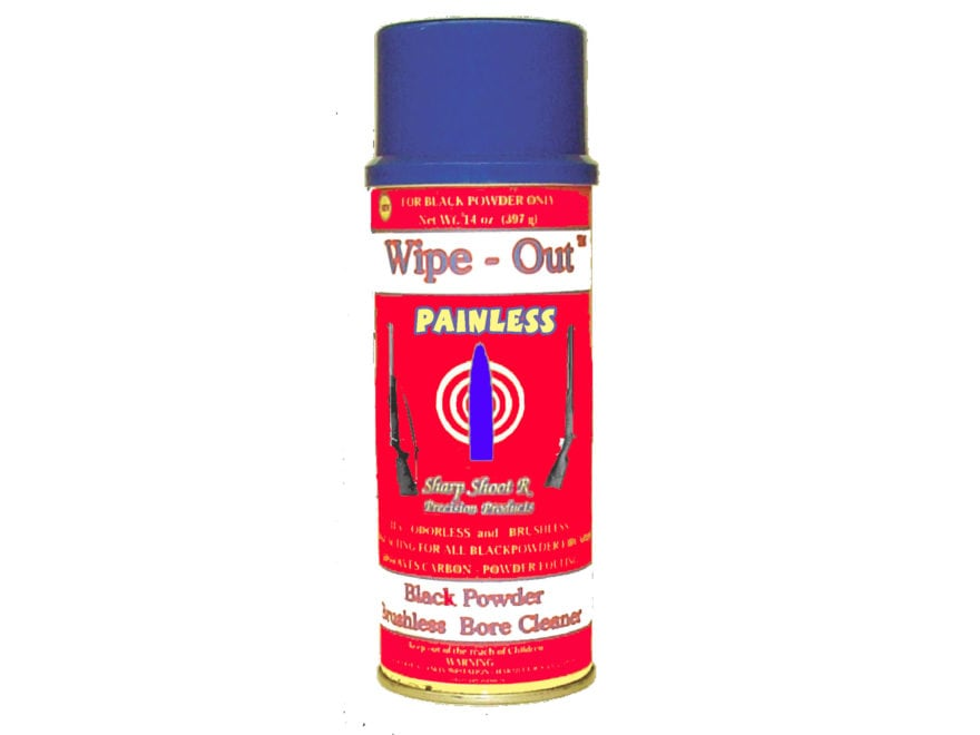 Sharp Shoot R Painless Muzzleloader Bore Cleaning Solvent 14 oz Aerosol