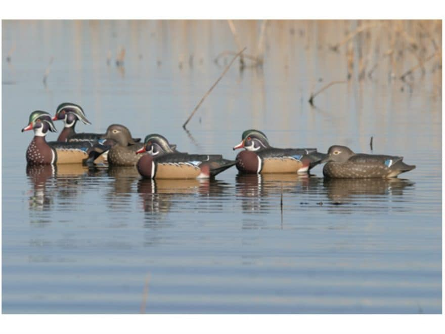 Ghg Pro Grade Weighted Keel Wood Duck Decoys Mpn 73135disc