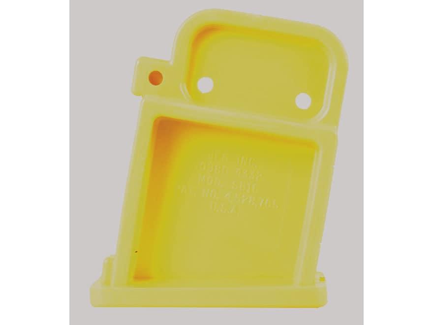 Boonie Packer Safety Magazine Well Bolt Block AR-15 Yellow