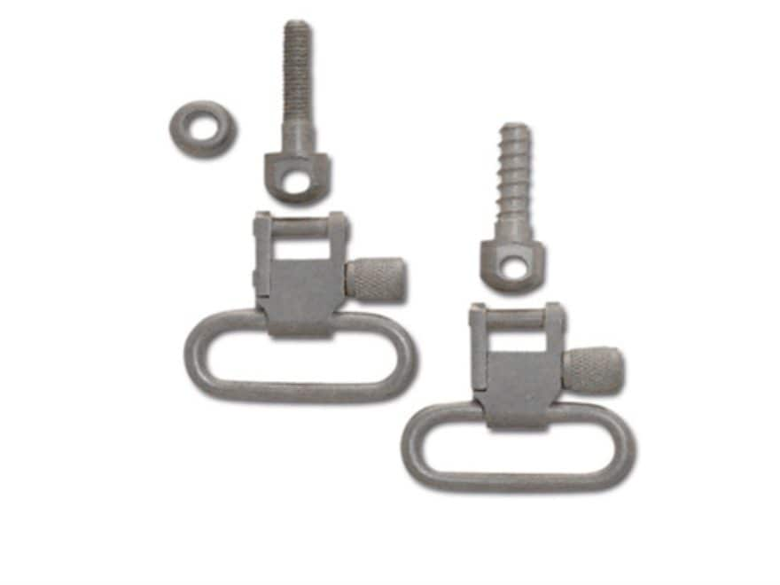"GrovTec Sling Swivel Studs with 1"" Locking Swivels Set with Machine Screw Forend"