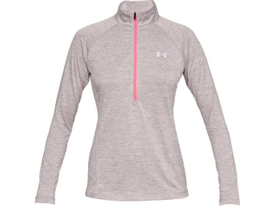 Under Armour Women's UA Tech 1/2 Zip Shirt Long Sleeve Polyester