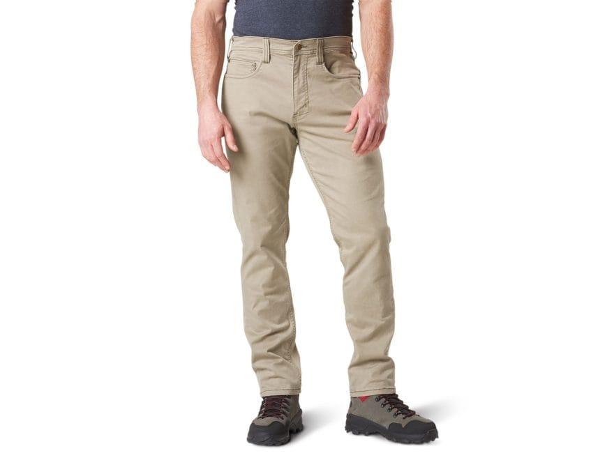 5.11 Men's Defender-Flex Slim Fit Tactical Pants Cotton/Poly Denim Blend