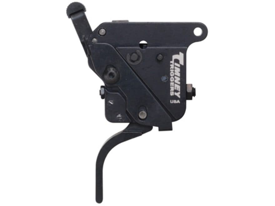Timney Rifle Trigger Remington 700, 40X Flat Left Hand with Safety 1-1/2 lb to 4 lb