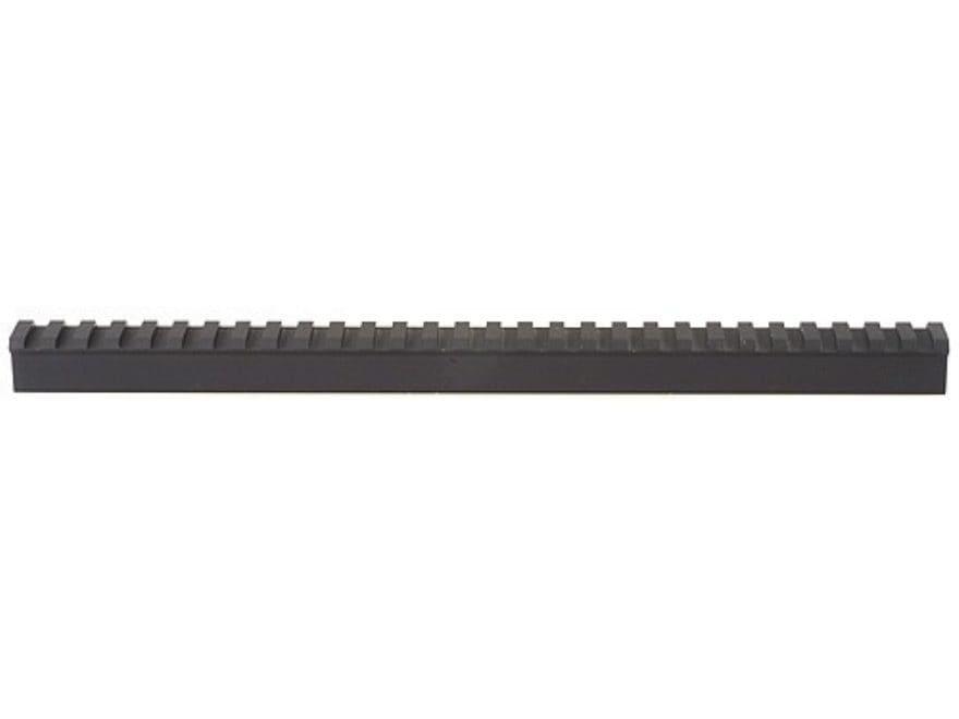 "ERGO Gunsmith Picatinny-Style Rail Scope Base Blank 12"" Length .400"" Height Aluminum Black"