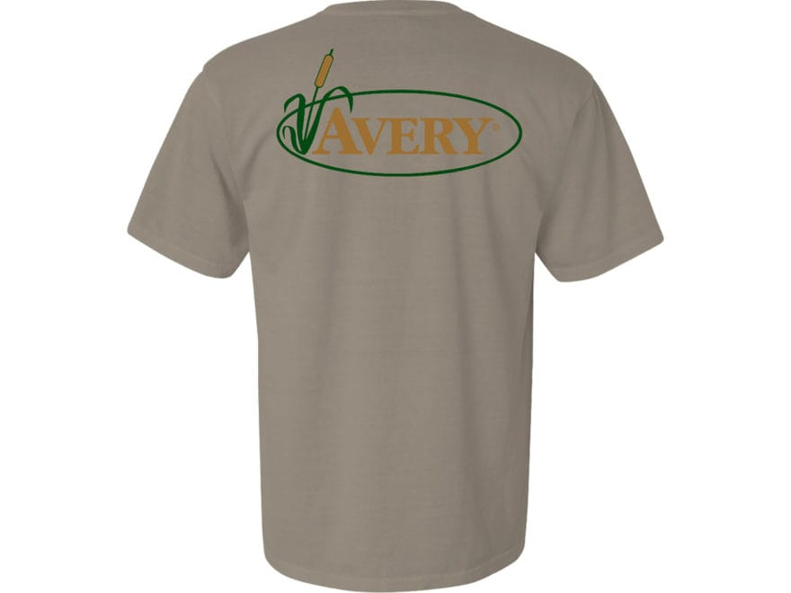 Avery Men's Signature Logo T-Shirt Short Sleeve Cotton