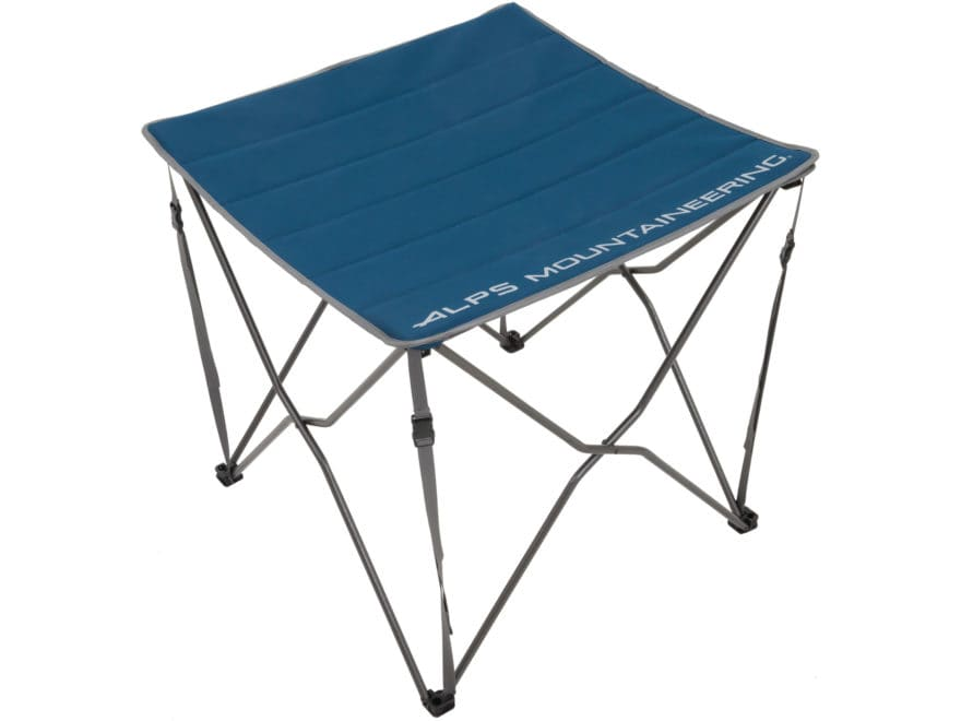 ALPS Mountaineering Switchback Camp Table Steel and Polyester Blue