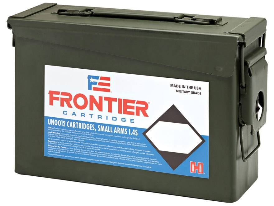 Frontier Cartridge Military Grade Ammunition 223 Remington 55 Grain Hornady Spire Point...