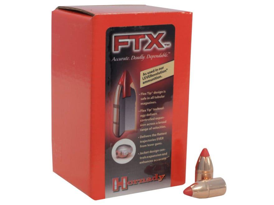Hornady FTX Bullets 444 Marlin (430 Diameter) 265 Grain Flex Tip eXpanding Box of 50