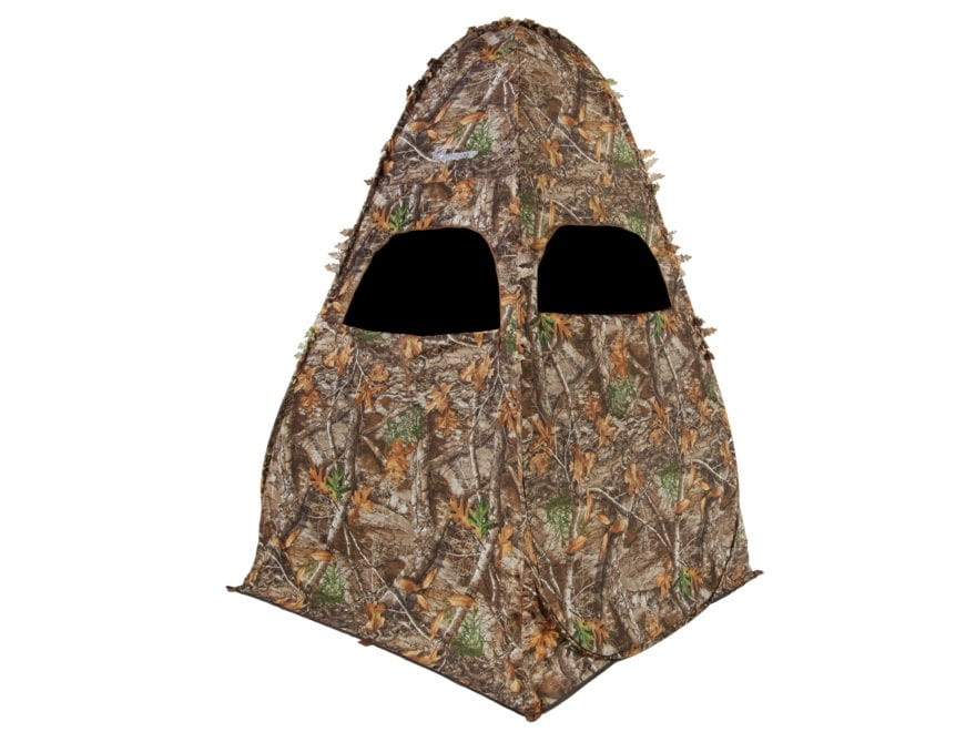 "Ameristep Outhouse Ground Blind 78"" x 60"" x 60"" Polyester Realtree Edge Camo"
