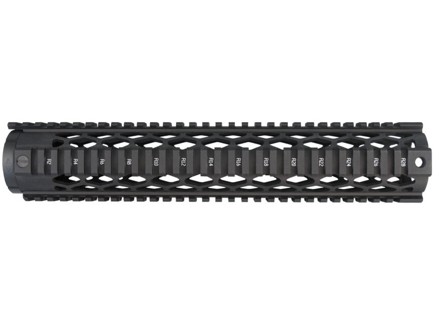 Yankee Hill Machine Diamond Free Float Tube Quad Rail Handguard DPMS GII Aluminum Matte