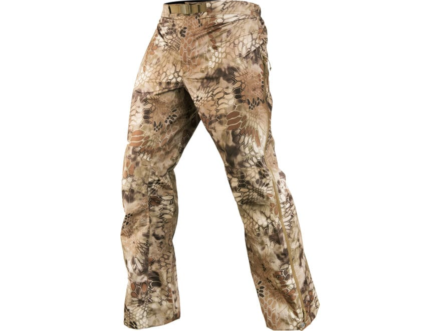 Kryptek Men's Poseidon II Waterproof Rain Pants Polyester