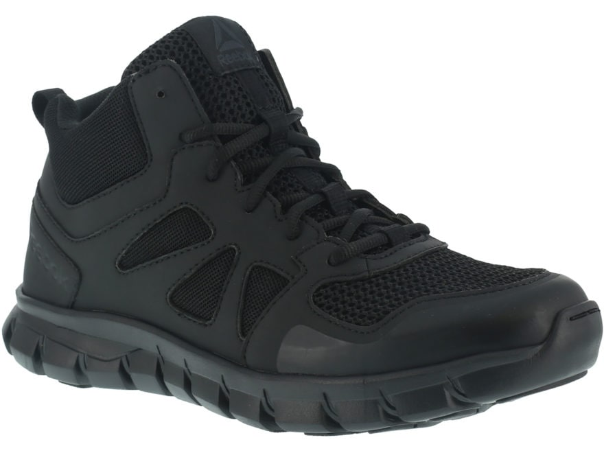"Reebok Sublite Cushion Mid 5"" Tactical Shoes Leather/Nylon Men's"