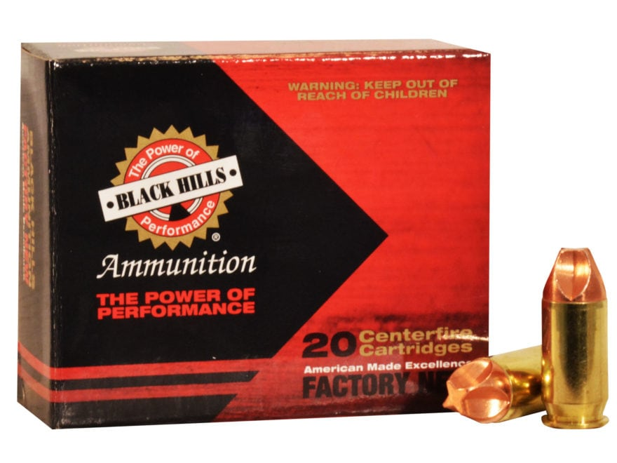 Black Hills HoneyBadger Ammunition 45 ACP 135 Grain Lehigh Xtreme Defense Lead-Free Box...