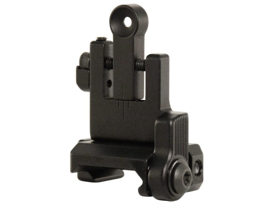 Bobro Lowrider Flip Up Rear Sight AR-15, LR-308 Aluminum Matte