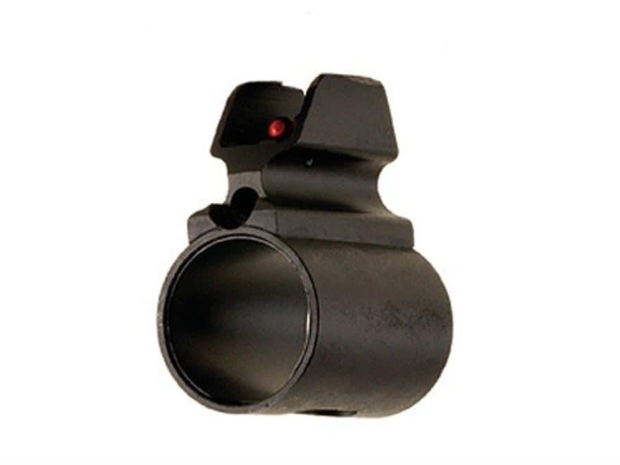 LPA BAR Tactical Series Barrel Band Shotgun Front Sight 12 Gauge Steel Blue Fiber Optic...