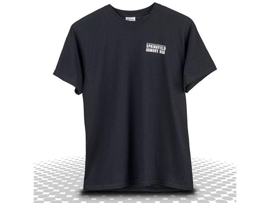 Springfield Armory Bring Enough Gun T-Shirt Short Sleeve Cotton