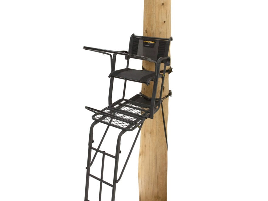Rivers Edge SYCT Lockdown Tall Single Ladder Treestand Steel Gray