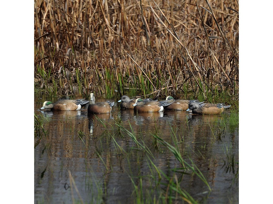 GHG Pro-Grade Wigeon Duck Decoy Pack of 6