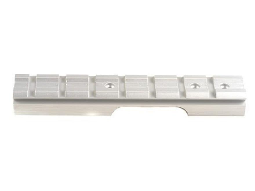 Power Custom 1-Piece Weaver-Style Scope Base Ruger Mark II Silver